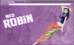 One Piece Google Chrome Theme: Nico Robin
