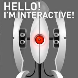 Interactive Portal Turret by SarmaiBalazs
