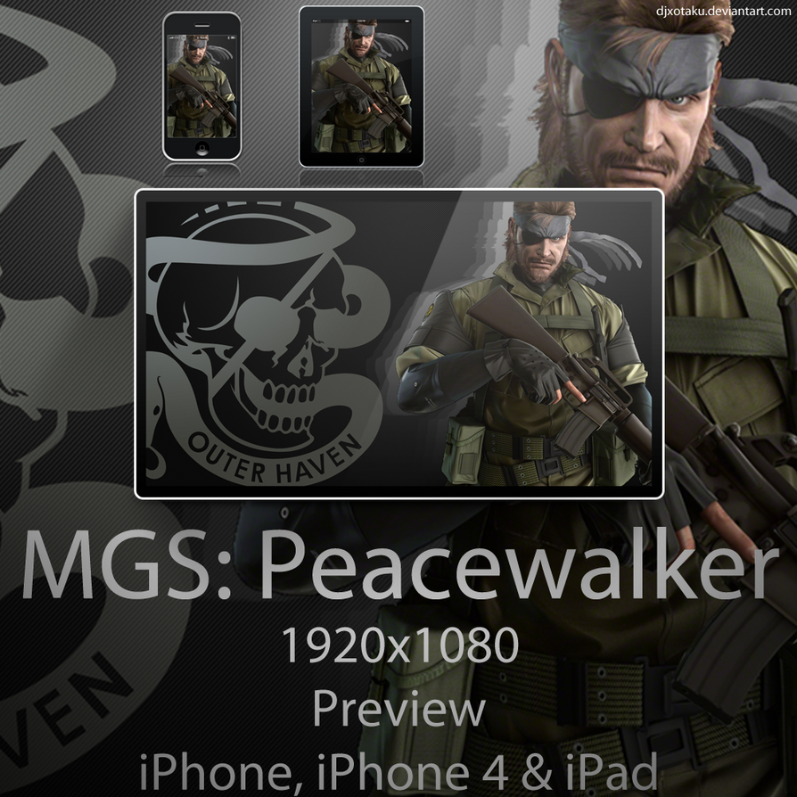 MGS Peacewalker Wallpaper by Tyger18