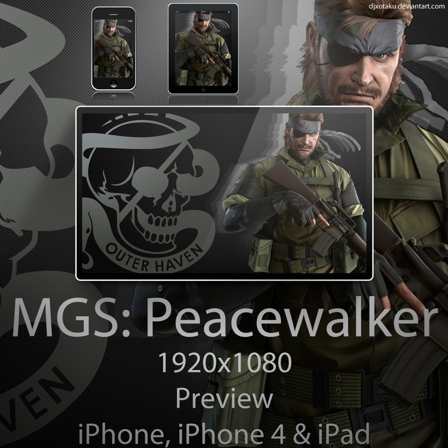 MGS Peacewalker Wallpaper by Tyger18