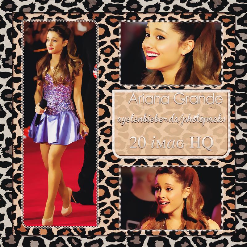 Photopack Ariana Grande |2| by OurHeartOfLove