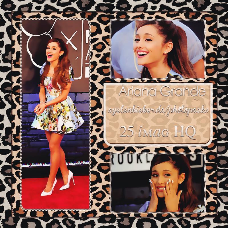 Photopack Ariana Grande |1| by OurHeartOfLove