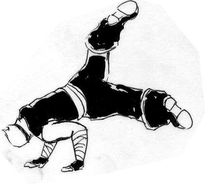 BREAK DANCE !! :practice animation: