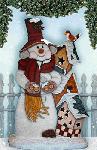 Snowman by MyMimi