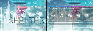 Shelter Theme for Rainmeter