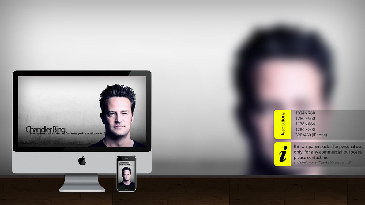 Chandler Bing wallpaper by