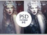 Iron Rose PSD Coloring