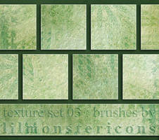texture set 03 image pack by lilmonstergraphix