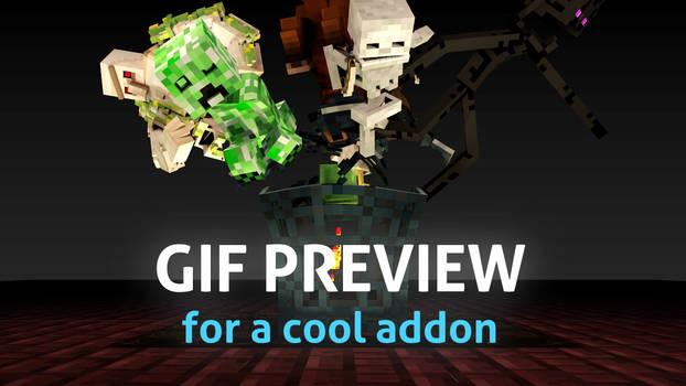 Mob Spawner - Minecraft MCprep addon update