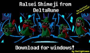 Ralsei Shimeji from DeltaRune - Download