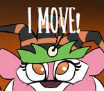 Animal jam: Princess Scaryghost (bit scary)