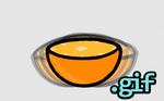 Wobbling Orange