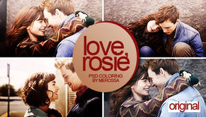 Love, Rosie Psd Coloring