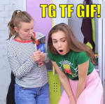GIRL-FRIENDZONED - TRANSGENDER TRANSFORMATION GIF