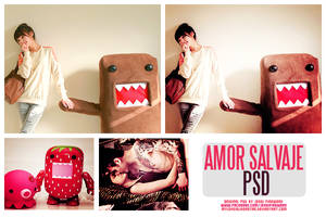 +Amor Salvaje PSD. by MyLoveIsLikeaStar