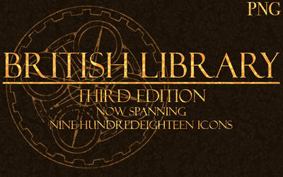 Icons of the Library 3 PNG