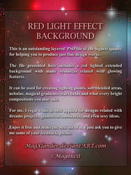 RedLightEffectBackground part1 by magXlander