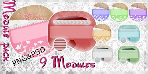 Module Pack -9 modules- by ChocolateCream-Betty