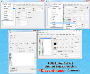 Limited English PMD Editor