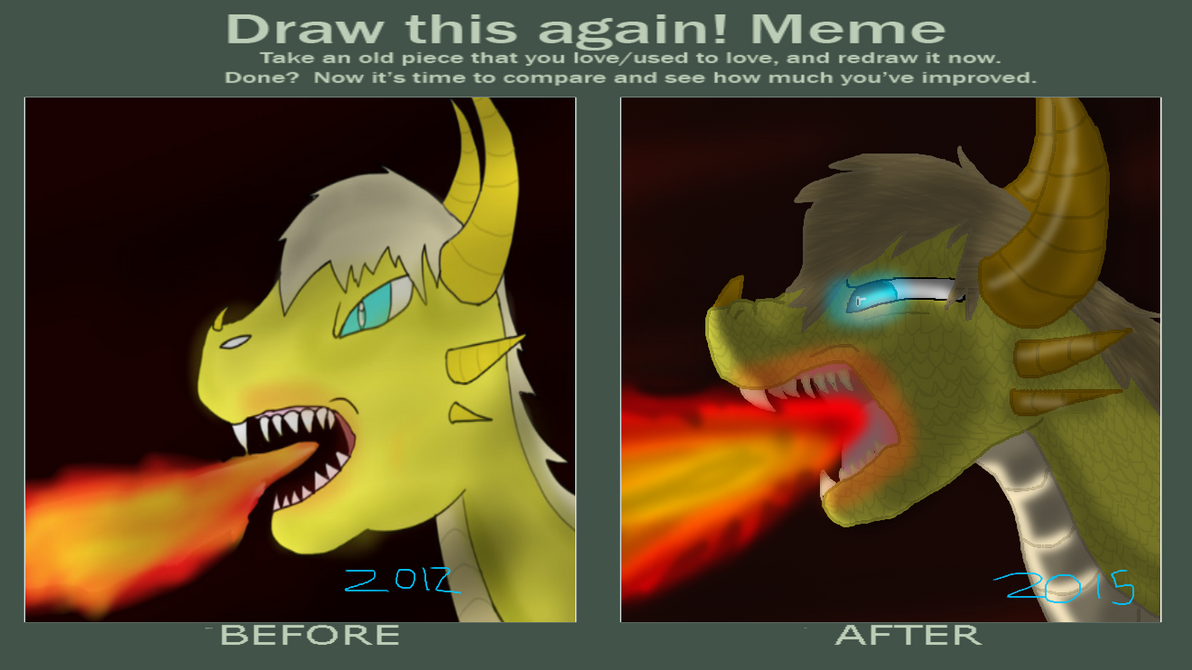 Pewdiepie the Dragon * redraw* by Darkpaw-Lights