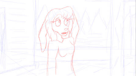 Cecilia rough dialouge animation (Savanna Clark) by Bronson365