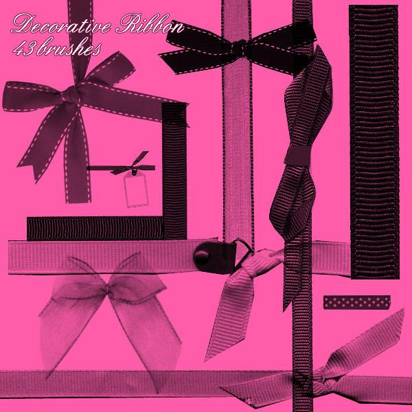 Ribbon Brushes by sylvehr