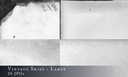 Large Vintage Skies Textures