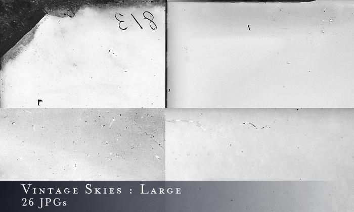 Large Vintage Skies Textures by myjupiterstar