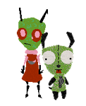 Petz -- Invader Zim and GIR
