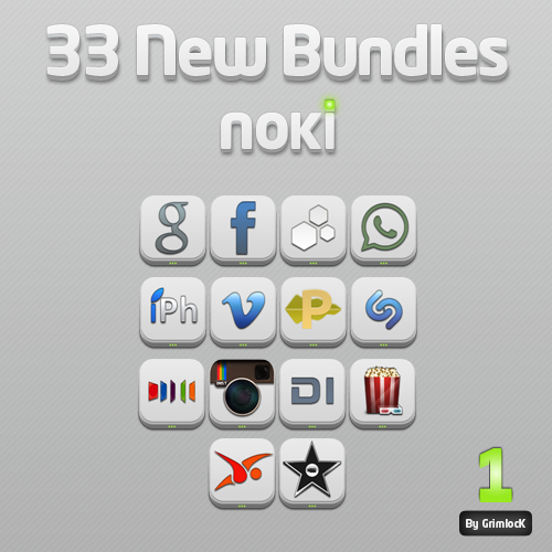 Noki Bundles Pack One by GrimlocK38