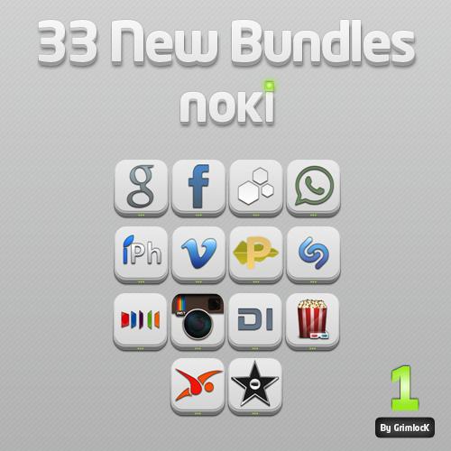 Noki Bundles Pack One by GrimlocK38