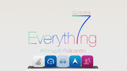 50 icons iOS7 For Mac