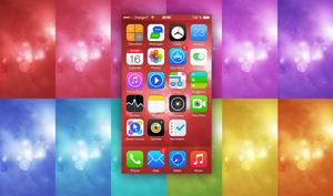 12 Light Abstract iOS7