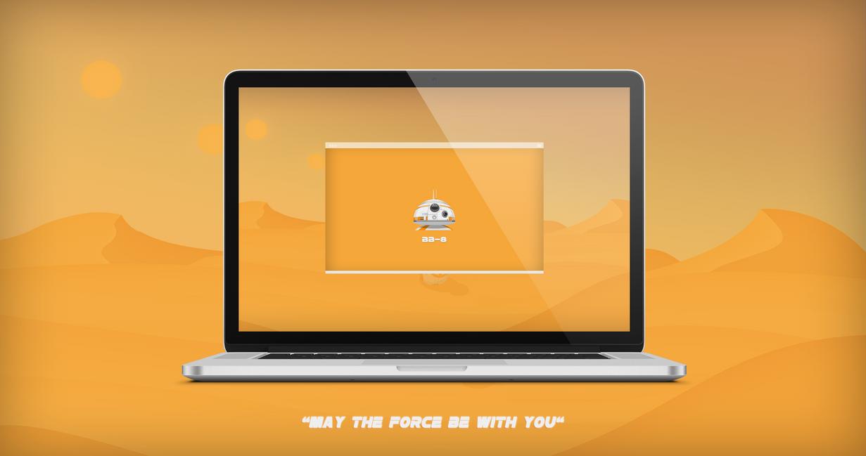 Star Wars | The Force Awakens (Version MacBook) by GrimlocK38