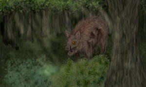 Dire Boar in the Forest