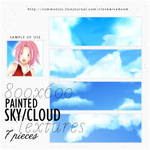 Large sky textures