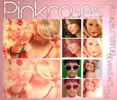 Pinkroses action. by flylikebutterflies
