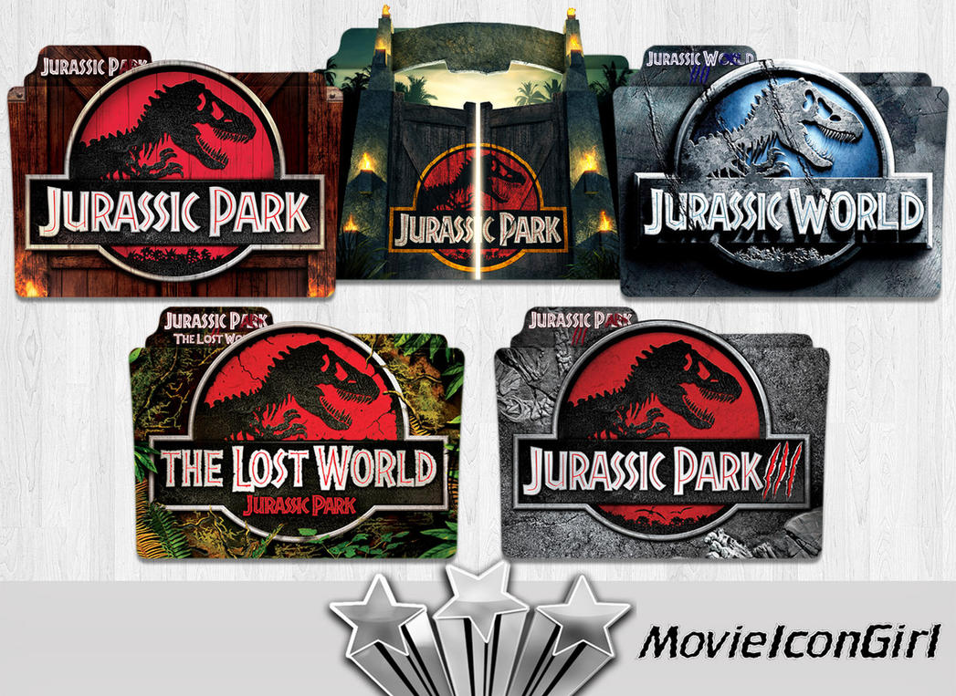 Jurassic Park Collection By MovieIconGirl On DeviantArt