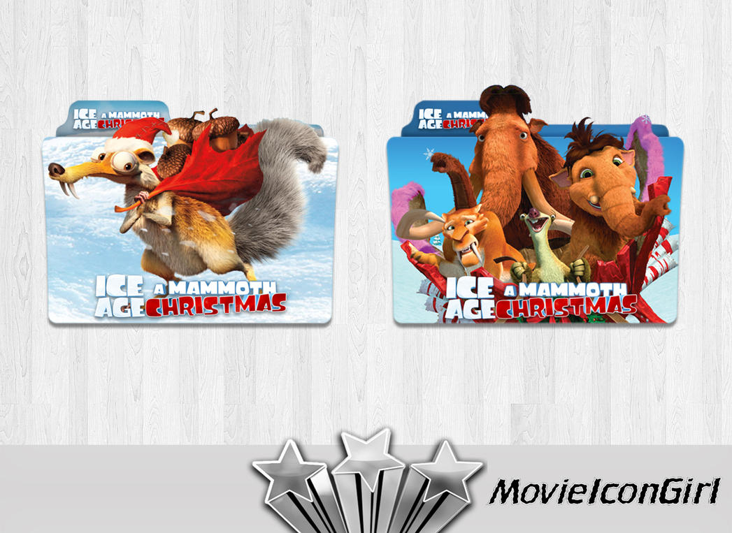 Ice Age: A Mammoth Christmas Folder Icon by MovieIconGirl on DeviantArt