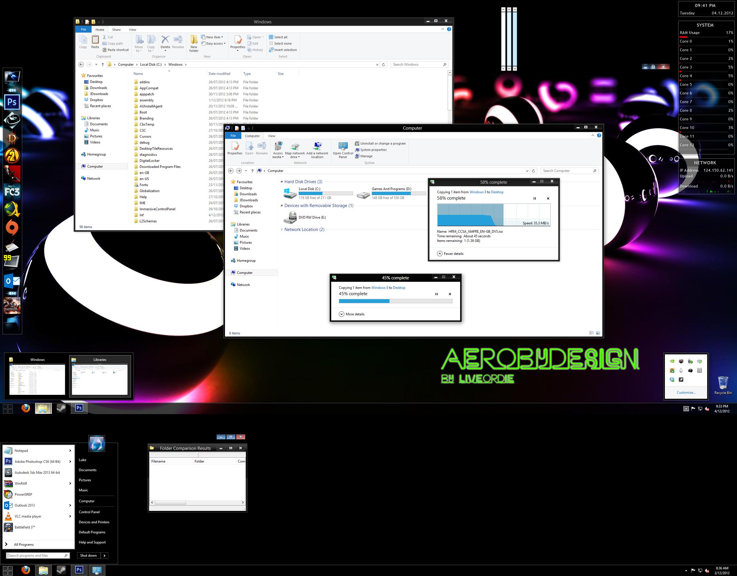 AeroByDesign For Windows 8
