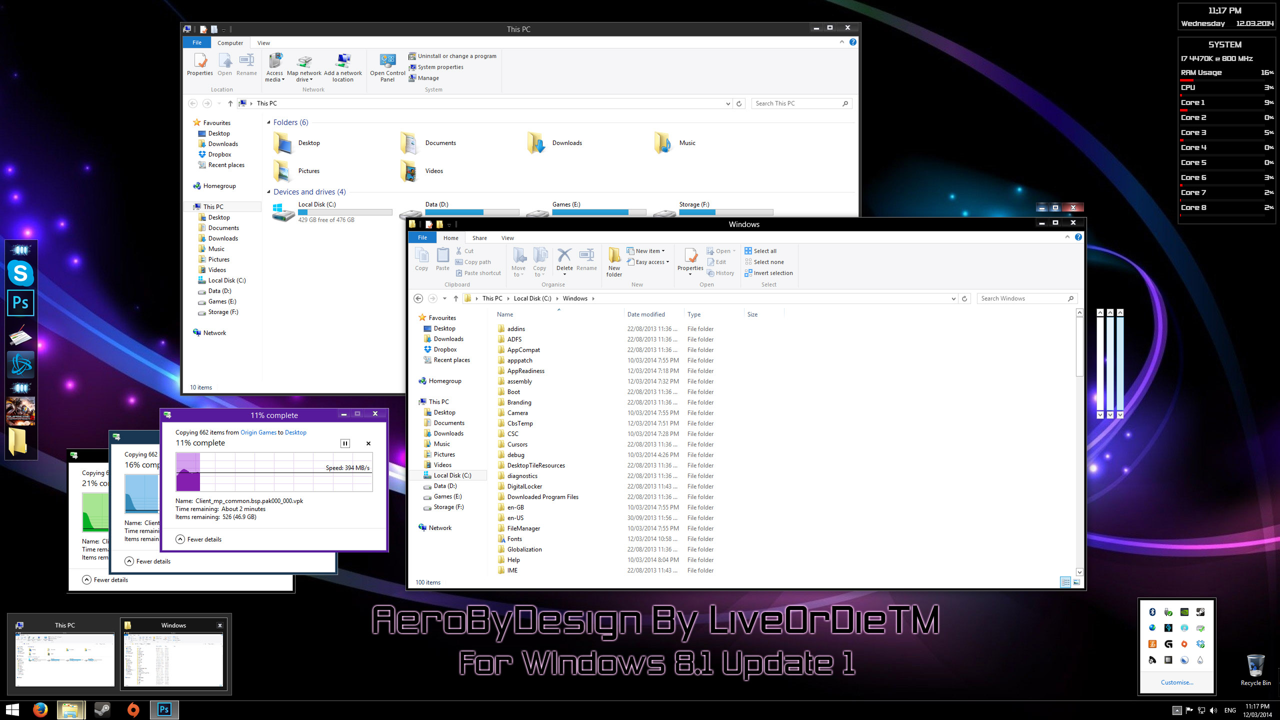 AeroByDesign For Windows 8.1 Update 1 by LiveOrDieTM