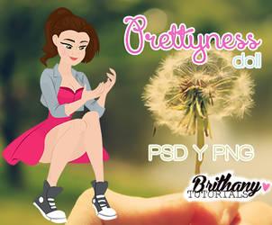 Prettyness doll brithanytutorials by Brithanytutorials