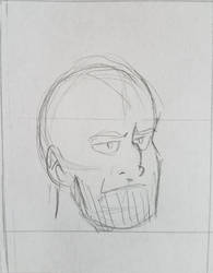 sketchy groovy thanos gif by Jersey-cow