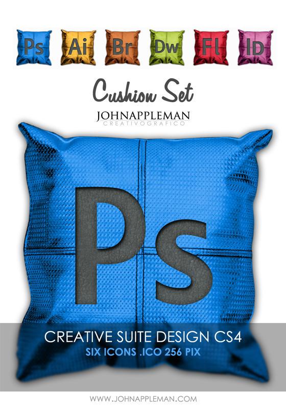 Cushion Set CS4 ICONS by JohnAppleMan