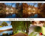 Brown tones action