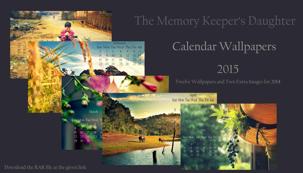 Calendar Wallpapers by DebaratiDas