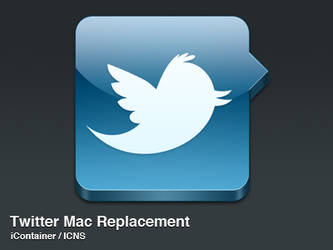 Twitter Mac by agoner