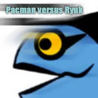 Pacman versus Ryuk 1 by wendylizana