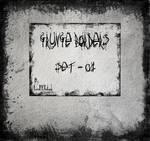 Grunge borders - set 01