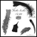 Feather brushes - set 02 - JPG